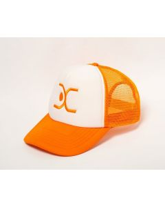 DAC Cap - Orange/White