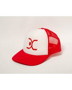 DAC Cap - Red/White